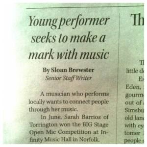 The Valley Press - Article by Sloan Brewster