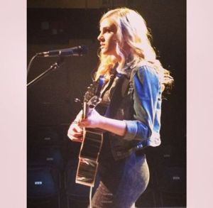 Opening for Teddy Geiger at the Fairfield Theatre Company, Fairfield, CT