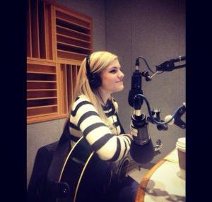 Performing at Boston University on WTBU Radio