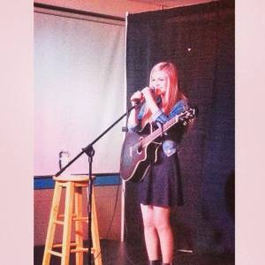 Performing at the University of New England in Maine
