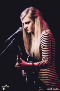 Performing at The Desultory Theatre Club in Torrington, CT Photo Credit: Mandi Martini Photography
