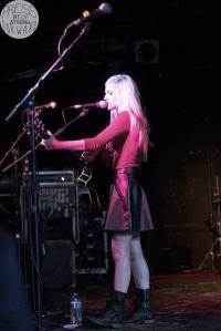 Opening for The Go To at Pearl Street Nightclub in Northampton, Mass. Photo credit: Amy Wong