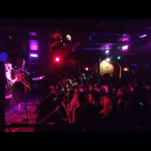 Opening for Ryan Beatty at The Middle East Night Club in Cambridge, Mass.