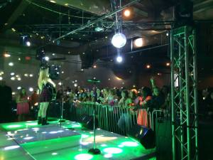 Performing at Reality Dance Jam Tour in Long Island