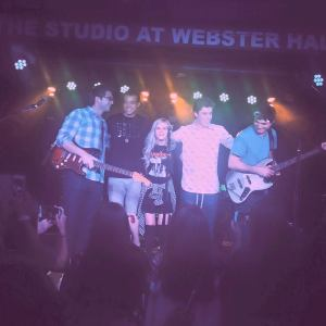 Perfoming at Webster Hall in NYC with The Como Brothers, American Idol's Sam Woolfe and America's Got Talent's Miguel Dakota