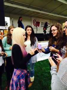 Meeting Fans