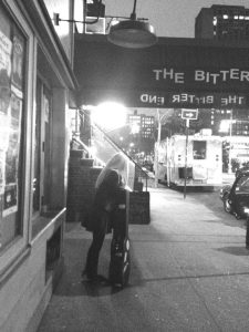 Performing at The Bitter End in NYC