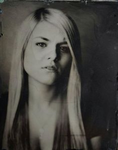 My wet plate portrait done by 179 Pictures who will have a tintype photo booth at the Collinsville FIlm Festival!