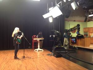 Performing on CT Style -News Channel 8