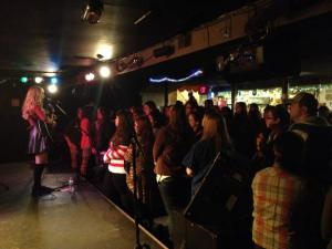 Playing to a sold out crowd of over 200 opening for Jill Jensen and Riley Lynch at The Space in Hamden, CT
